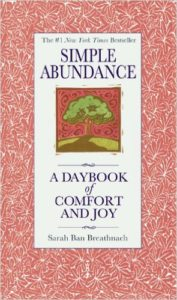 Simple Abundance A Day book of comfort and joy
